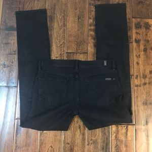 7 for all Mankind black jeans size 30